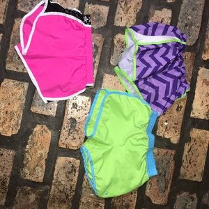 bundle if  aerobic shorts